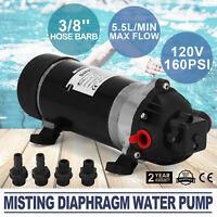 5.5L/MIN Misting Diaphragm Water Pump 160PSI Durable High Pressure  Agriculture