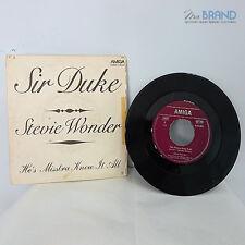 DISCO IN VINILE AMIGA - HE'S MISSTRA KNOW-IT-ALL STEVIE WONDER SIR DUKE ART.4981