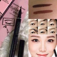 Brown Monomola 7 Days Eyebrow Tattoo Pen Liner Long Lasting Eye Makeup Cosmetic