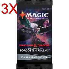 MTG: Adventures in Forgotten Realms - Draft Booster Pack x3