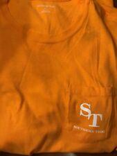 NWT SOUTHERN TIDE SZ XL Men's LOW TIDE Skipjack Pocket T-Shirt Orange
