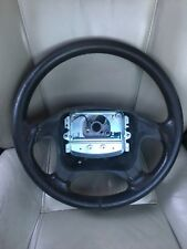 OEM Volvo 1998-2004 C70 S70 V70 Charcoal Gray Leather Steering Wheel RARE IPD