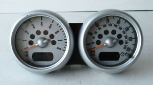 Genuine Used MINI Dual Rev Counter Speedo Clocks for R50 R52 R53 - 6936298