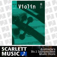 AMEB Violin Series 8 Grade 3 ( Three / Third ) Book *BRAND NEW*