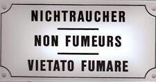 EMAILSCHILD  Nr. 43  Nichtraucher (3-spr.)