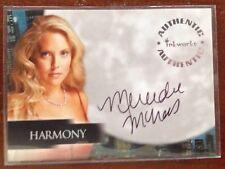 Inkworks Angel Season 5 Mercedes McNab as Harmony Autograph Card