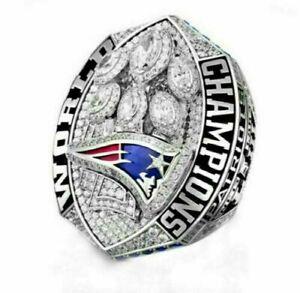 2018 -2019 New England Patriots Championship Ring size 8-14 !