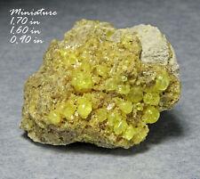 New ListingSulfur Bolivia Minerals Specimens Crystals Gems-Min