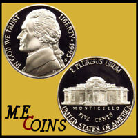 1993-S Proof Jefferson Nickel, Gem Deep Cameo , FREE SHIPPING!
