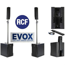 RCF EVOX-8 Two-Way Array System DEMO  AUTHORIZED DISTRIBUTOR! 1 DAY SALE ONLY!!