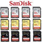 SD Card SanDisk 32GB 64G 128G 256G 16G Ultra Extreme Pro SDHC SDXC Camera Memory