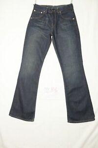 Levi's 525 girls slim fit bootcut nuovo (Cod.NV86) W27 L32 denim donna vita alta