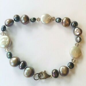 lovely bracelet freshwater pearls Silver 925 clasp