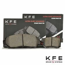 Premium Ceramic Disc Brake Pad FRONT + REAR NEW Set With Shims KFE1521 KFE536