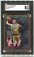 Kobe Bryant Topps Finest 1996-97 RC No Peel SGC 8 PSA BGS Lakers Legend Rookie