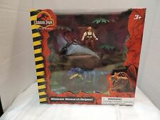 NEW Universal Studios Jurassic Park Dinosaur Research Outpost Toy Figure Set