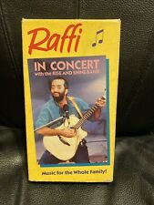 Raffi In Concert Vhs Eith The Rise And Shine Band Video We Combine Shipping