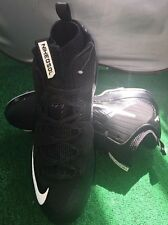 Nike Metal Cleats Size 13 Bsbl Air Max Mvp Elite 2 Black White 684687-010 Nwb