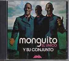 CD Mega RARE Fania FIRST PRESSING Monguito y su conjunto EL UNICO  masacote