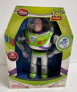 "NEW 2018 Disney Store Toy Story 12"" BUZZ LIGHTYEAR Talking Doll Figure - RETIRED"