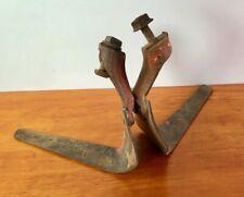 "Vintage Planet Jr. Wheel Hoe 6"" Cultivator Blades Sweeps S100 & S101 Attachments"