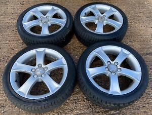 """Genuine OEM Seat Ibiza 16"""" 5x100 Alloy Wheels + Tyres Polo Bora Mk4 Golf Fox"""
