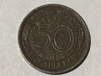 50 Peniques 1931 a J. 324 #D35 #