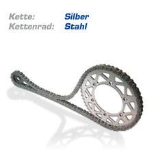 DERBI Kettensatz SENDA 125 R Bj. 2004-2005 TRAIL 4T mit Stahl Kettenrad