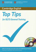 TOP TIPS for IELTS GENERAL TRAINING with Test CD-ROM by Cambridge ESOL @NEW