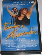 VPS Video 2247 - Fanfan & Alexandre - VHS/Komödie/Romanze/Sophie Marceau