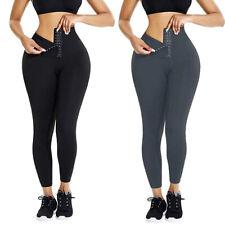 Women Waist Trainer Corset Cincher Yoga Pants Tummy Control Leggings Body Shaper