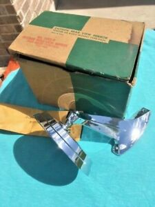 """1960's GM Chevrolet Cadillac NORS Accessory RH Passenger Outside Mirror 4-5/8"""""""