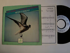 """HENRI CORBEAU : Un jour, l'amour viendra - 7"""" EP 1981 French S-M 17802 + ENCART"""