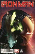 IRON MAN  (2013 Series)  (MARVEL) #2 LAND Near Mint Comics Book