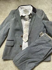 Monsoon Boys Suit Age 8 Jacket Trousers Wedding