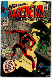 Daredevil #32 FN/VF 7.0  The Cobra and Mr. Hyde