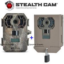 Stealth Cam Triad G42NG Game Trail Cam No Glo 10MP HD + Security Box G42NG + BBG