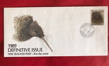 NEW ZEALAND 1989 $10 DEFINITIVE ISSUE LITTLE SPOTTED KIWI FIRST DAY COVER