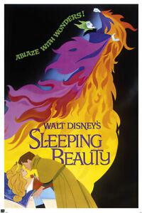 Sleeping Beauty - Classic Disney Movie Poster / Print (1959 Regular Style)