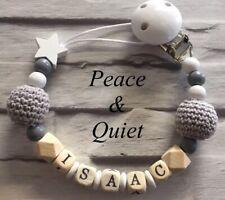 Maniquí Personalizado Clip 💎 de madera 🖤 Crochet, Gris 🖤 Star 💎 Chica 🖤 Boy 💎 Regalo #WWW