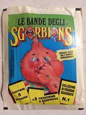 Bustina Figurine Le Bande Degli Sgorbions Ed.Games 1990