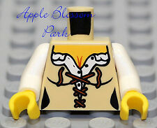 NEW Lego Female Minifig TAN TORSO - Castle Kingdoms Peasant Girl w/Corset Body