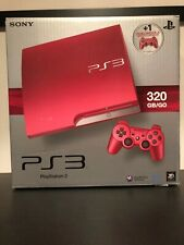PS3 Slim Scarlet Red 320 GB PAL Version