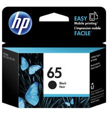 Genuine HP 65 Black Inkjet In Box for HP DeskJet 2624 2652 2655 3752 3755