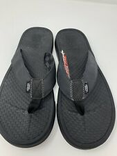 NEW Vans Ultracush Sea Black Men's Sandals Flip Flops Size 9