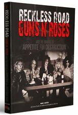 Guns N Roses making of Appetite For Destruction signed book Reckless Road rare