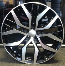 """4 x 18"""" GOLF STYLE ALLOY WHEELS FIT AUDI BLACK EDITION S-LINE A3 A4 A6"""