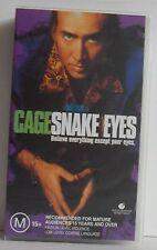 Nicolas Cage in Snake Eyes VHS Tape Region 4