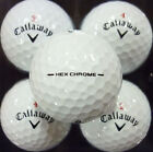 3 DOZEN MINT CONDITION CALLAWAY HEX CHROME GOLF BALLS