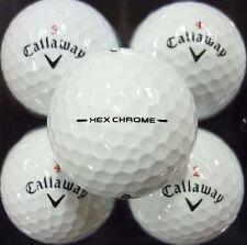 3 DOZEN MINT CONDITION CALLAWAY HEX CHROME GOLF BALLS